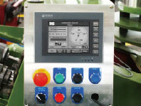 HMI with touch panel